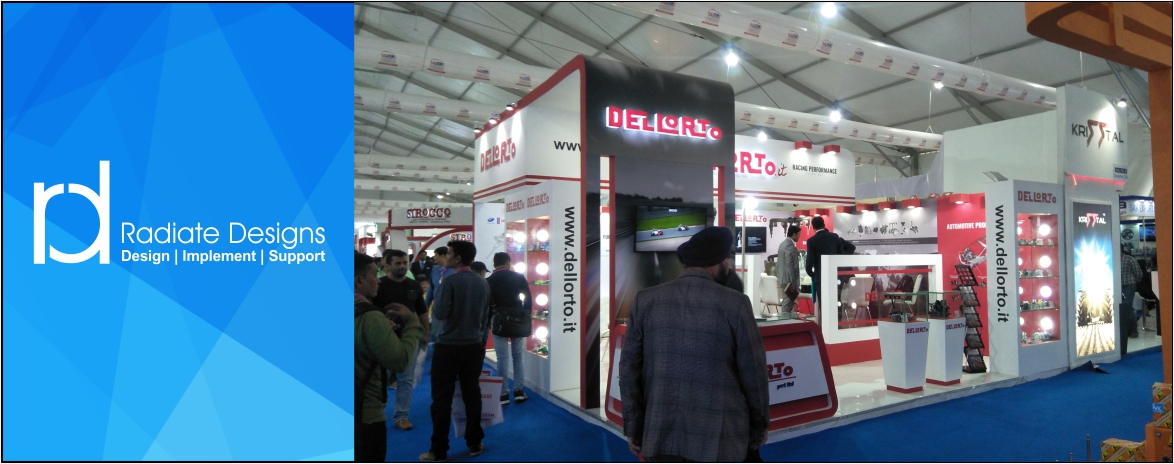 Exhibition Stall Hsn Code : Radiate design for exhibition and stall stand fabrication