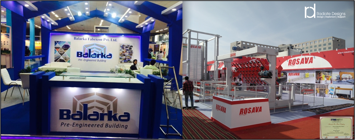 Exhibition Stall Fabrication in Delhi