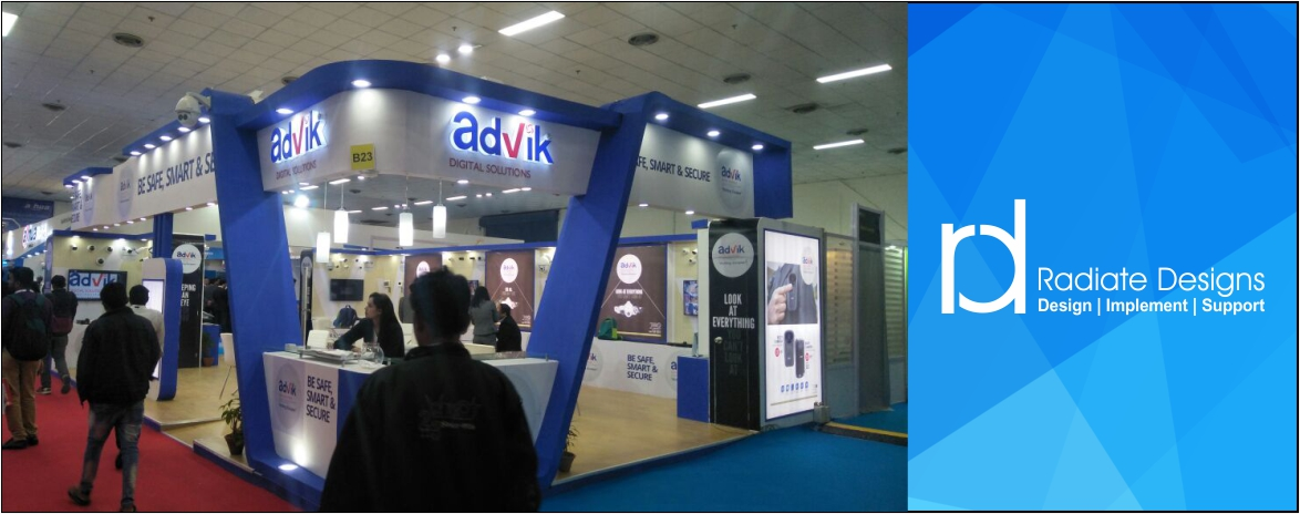 Exhibition Stall Set Up : Stall fabrication designers in delhi chennai